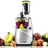 Cecotec Licuadora Verduras de Prensado en Frío Cecojuicer Pro. Extractor de Jugo con Canal XL para Fruta Entera, 250 W, 0,8...