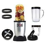NutriBullet MBR1128 - Batidora de Vaso, Compacta de Alta Velocidad, para Smoothies de Frutas y Verduras, Plástico Libre BPA,...