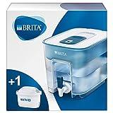 BRITA depósito Flow – Dispensador de Agua Filtrada con 1 cartucho MAXTRA+, Filtro de aguaBRITA que reduce la cal y el...