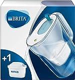BRITA Styleazul - Jarra de Agua Filtrada con 1 cartucho MAXTRA+, Filtro de aguaBRITA que reduce la cal y el cloro, Agua...