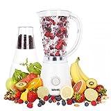 Duronic BL4 Batidora de Vaso Americana para Frutas y Verduras y Molino de Café y Molino para Especias, Café y Semillas