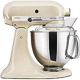 KitchenAid Artisan - Robot de cocina (4,8 L), color crema