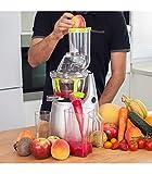 Cecotec Cecojuicer Pro Licuadora de Prensado en Frío, Para Frutas y Verduras, Extractor de Jugo con Canal XL para Fruta...