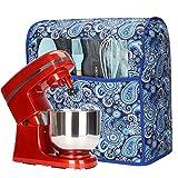 Cubierta antipolvo para batidoras de cocina, cubierta de tela con bolsillos para mezcladores de ayuda de cocina y accesorios...