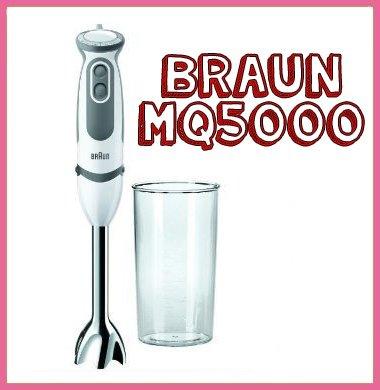 Braun Minipimer 5 Vario MQ 5000: la todoterreno de las batidoras de mano