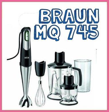 Braun MQ 745: una batidora de mano para usar de forma intensiva