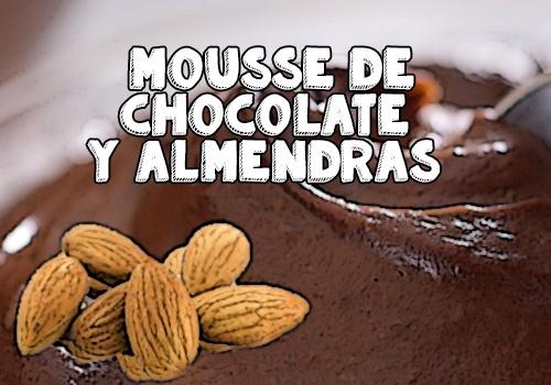 mousse de chocolate receta de batidora