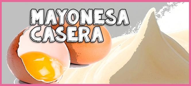 hacer mayonesa fácil batidora