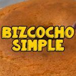 receta de bolo simple batidor