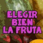 saber cuando la fruta está madura