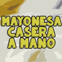 mayonesa a mano