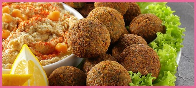 falafel receta original