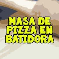 pizza con batidora