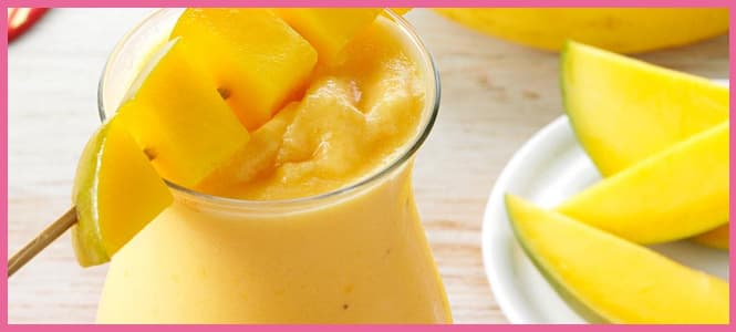 como hacer un smoothie de mango