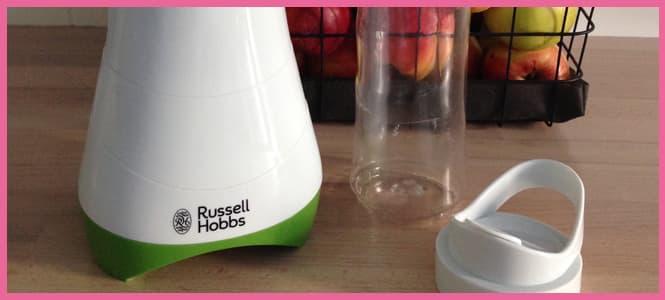 Russell Hobbs Mix & Go Mini batidora, Muy cómoda y fácil de limpiar