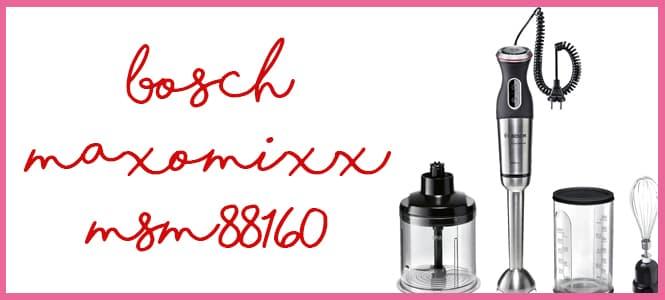 Opinión Bosch Maxomixx Msm88160