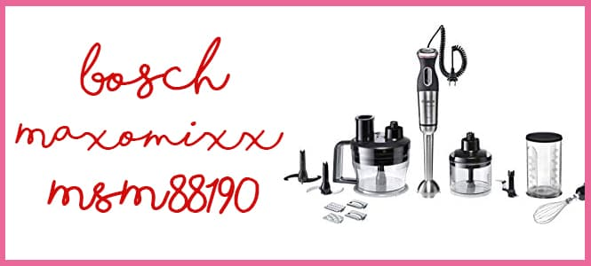 Opinión Bosch Maxomixx Msm88190