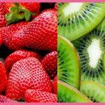 jugo de kiwi fresa