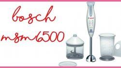 Bosch msm6500