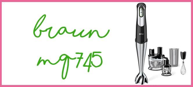 Braun Minipimer MQ745 Aperitif